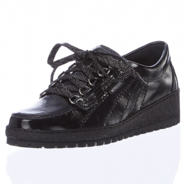Mephisto 'LADY' Black Patent Leather
